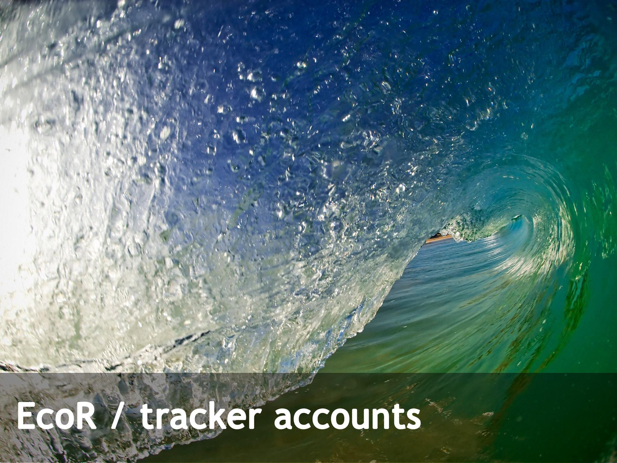 EcoR tracker account