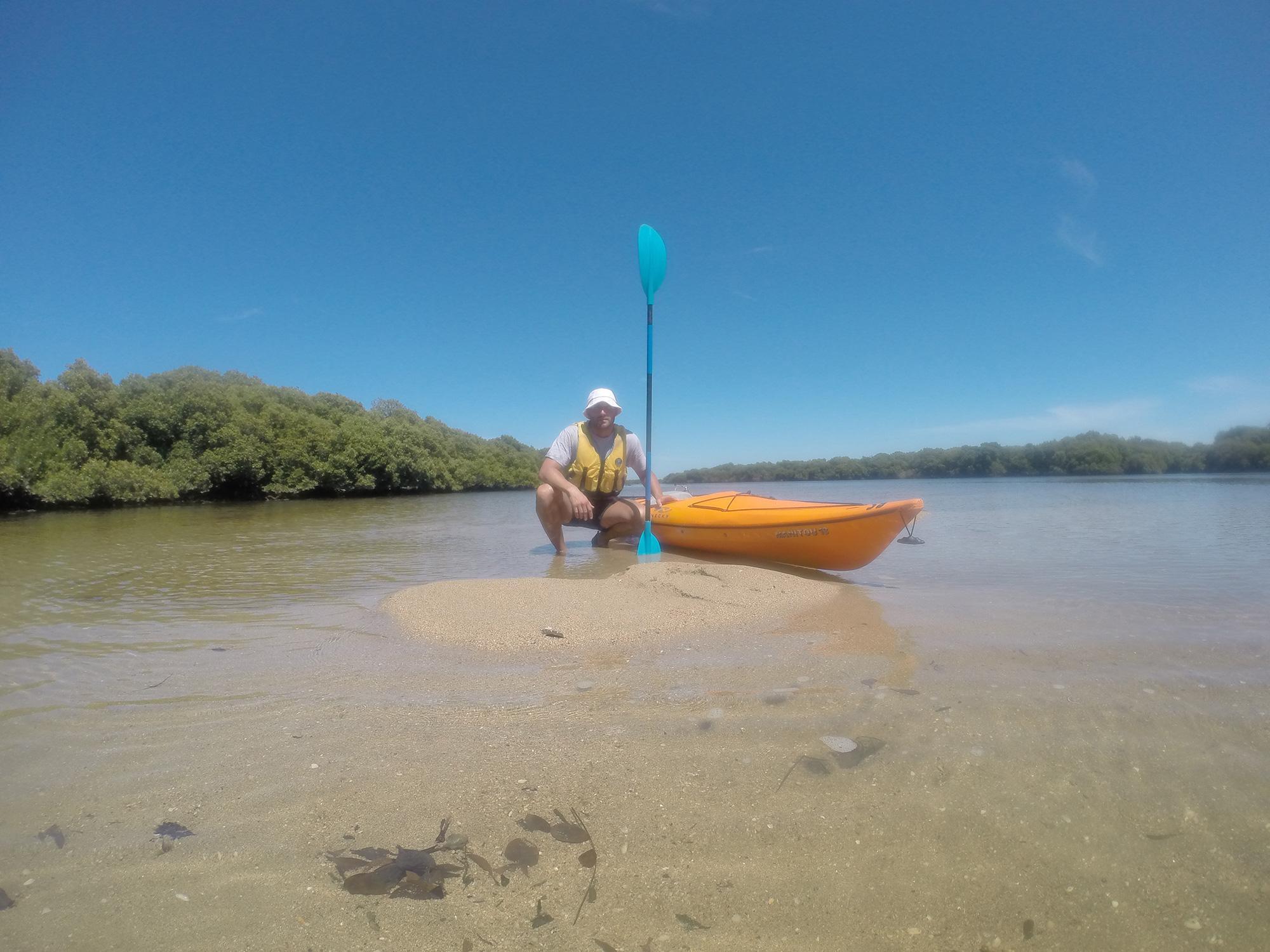 Port River Adelaide kayak